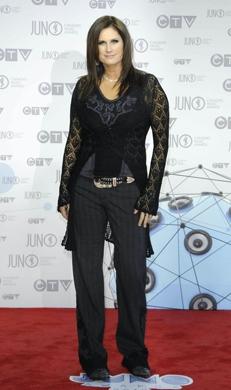 Terri Clark  at the 2012 JUNO Awards in Ottawa, April 1/12. Photo: CARAS/iPhoto